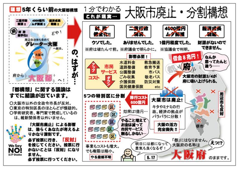 都 と は 構想 やすく 大阪 わかり 【超初心者向け】大阪都構想とは?メリットや背景を分かりやすく解説します! Beginaid